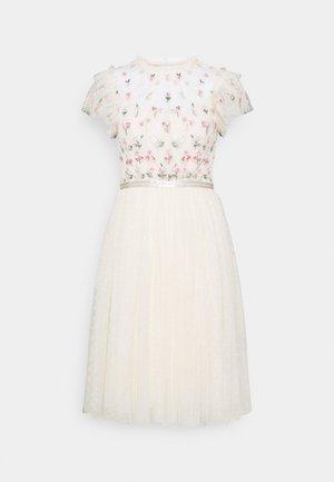 ROCOCO BODICE MIDI DRESS - Sukienka koktajlowa - champage