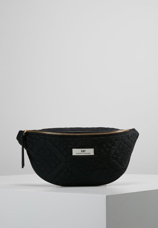 GWENETH FLOTILE BUM BAG - Heuptas - black