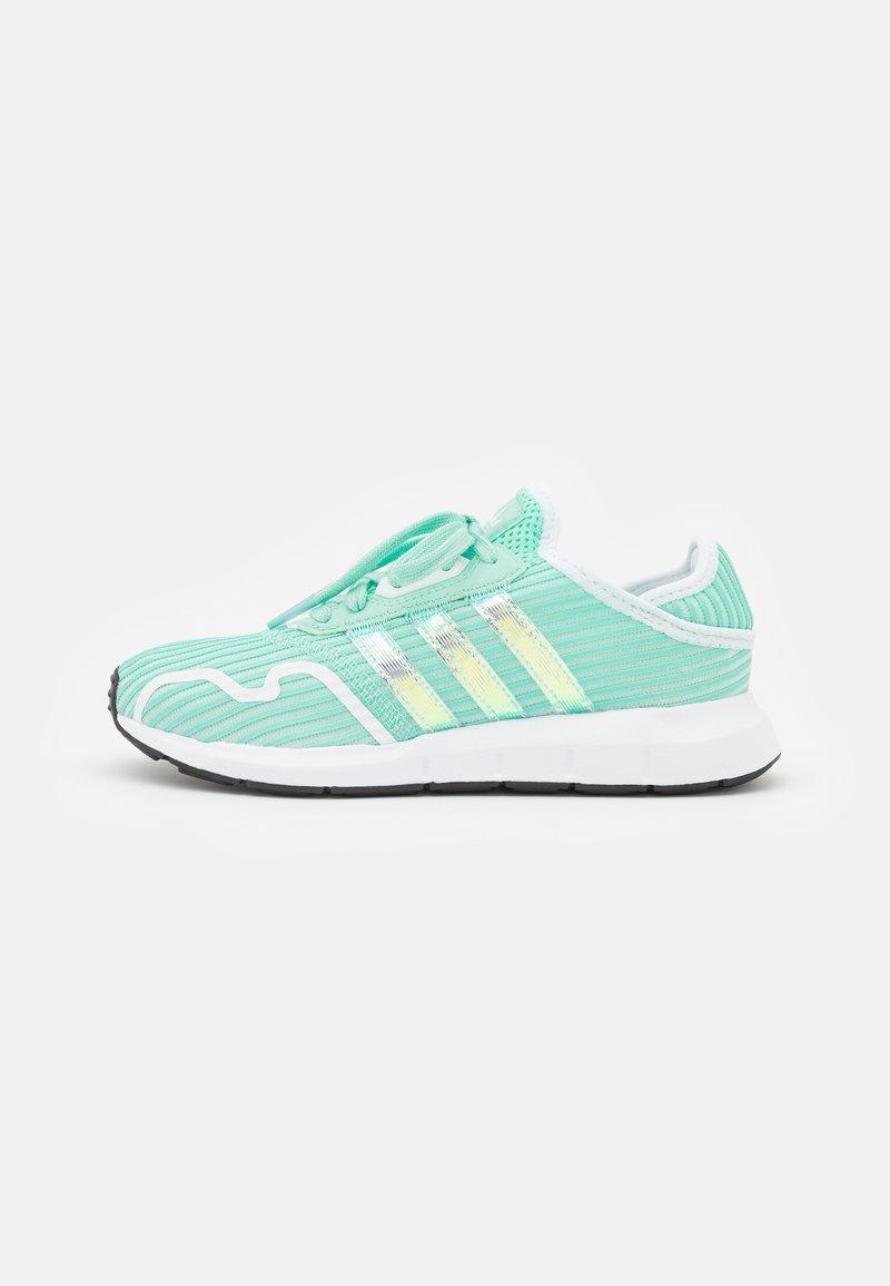 adidas Originals - SWIFT RUN X UNISEX - Trainers - clear mint/footwear white