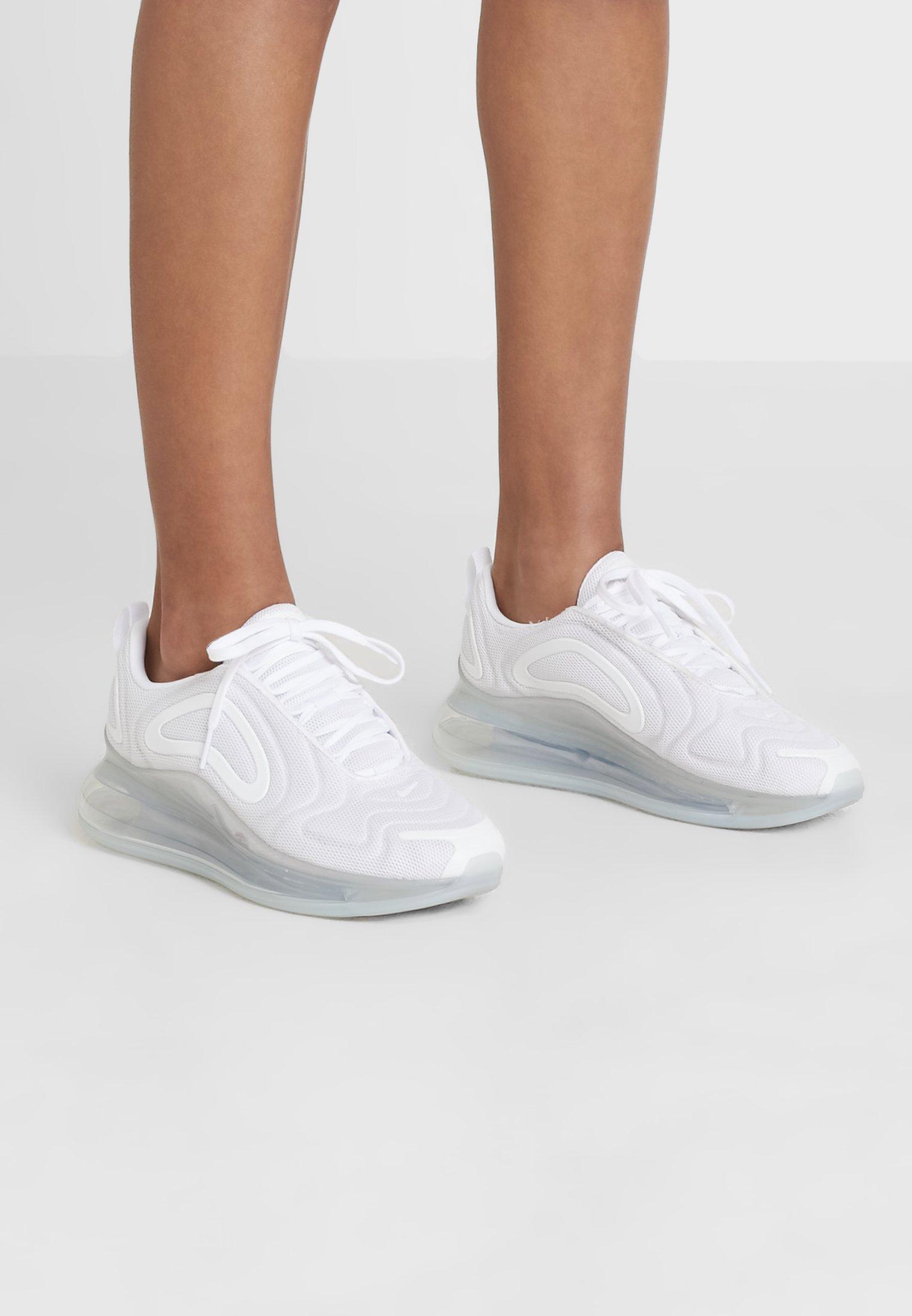 AIR MAX 720 - Sneakers laag - white/metallic platinum/pure platinum