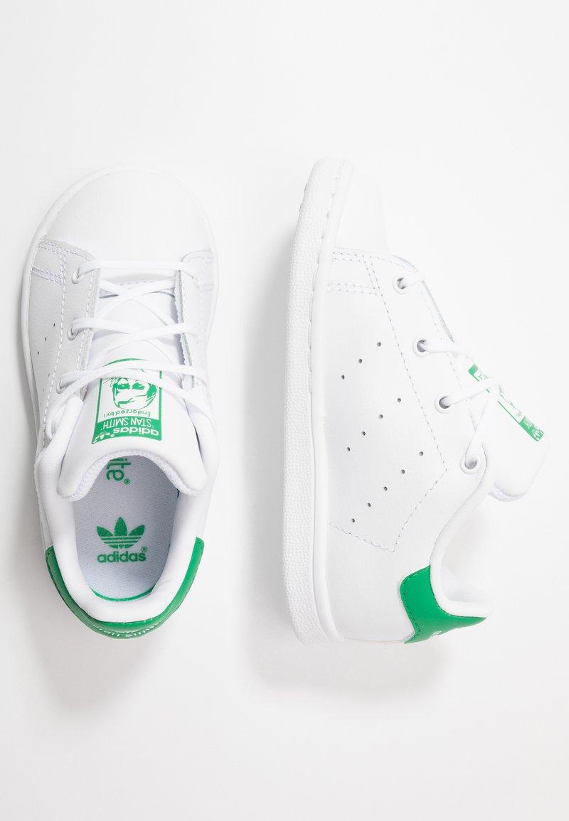 adidas Originals - STAN SMITH - Sneakers laag - footwear white/green