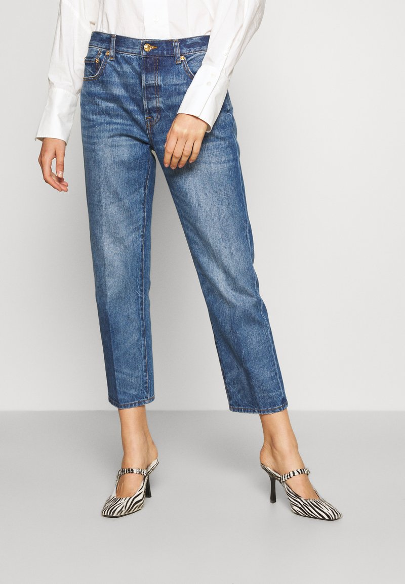 Tory Burch - CLASSIC - Relaxed fit jeans - vintage wash