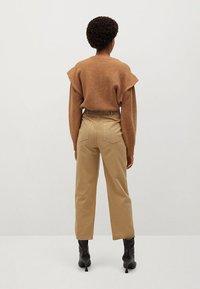 Mango - RELAX - Pantalon classique - sand - 2