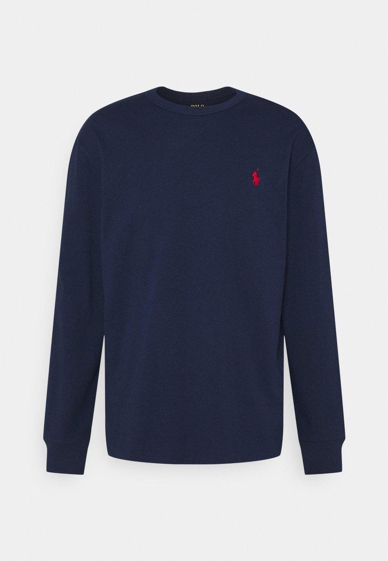 Polo Ralph Lauren - CLASSIC FIT JERSEY LONG-SLEEVE T-SHIRT - Felpa - newport navy