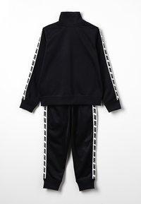 Nike Sportswear - NIKE BLOCK TAPING TRICOT SET - Tracksuit - black - 1