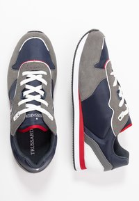 Trussardi Jeans - Trainers - blue/grey/red - 1