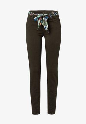 STYLE SHAKIRA - Jeans Skinny Fit - dark olive