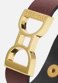 Coccinelle - ARLETTIS RIBBON BRACELET - Bracelet - marsala - 3