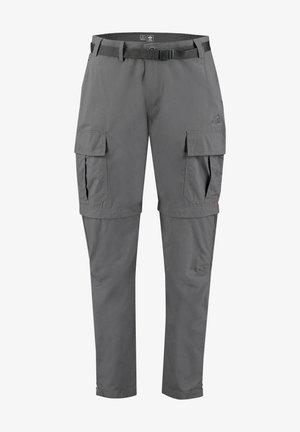 MIT ZIPP/ ZIPP-OFFHOSE AMITE III - Outdoor trousers - anthrazit