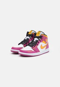 Jordan - AIR 1 MID - Baskets montantes - white/black - 1