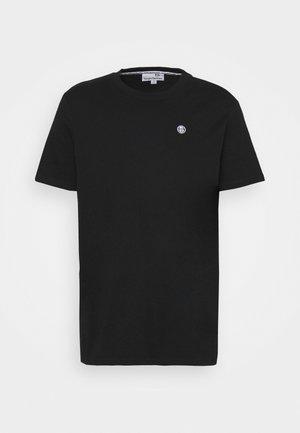 CAVOUR - Jednoduché triko - black