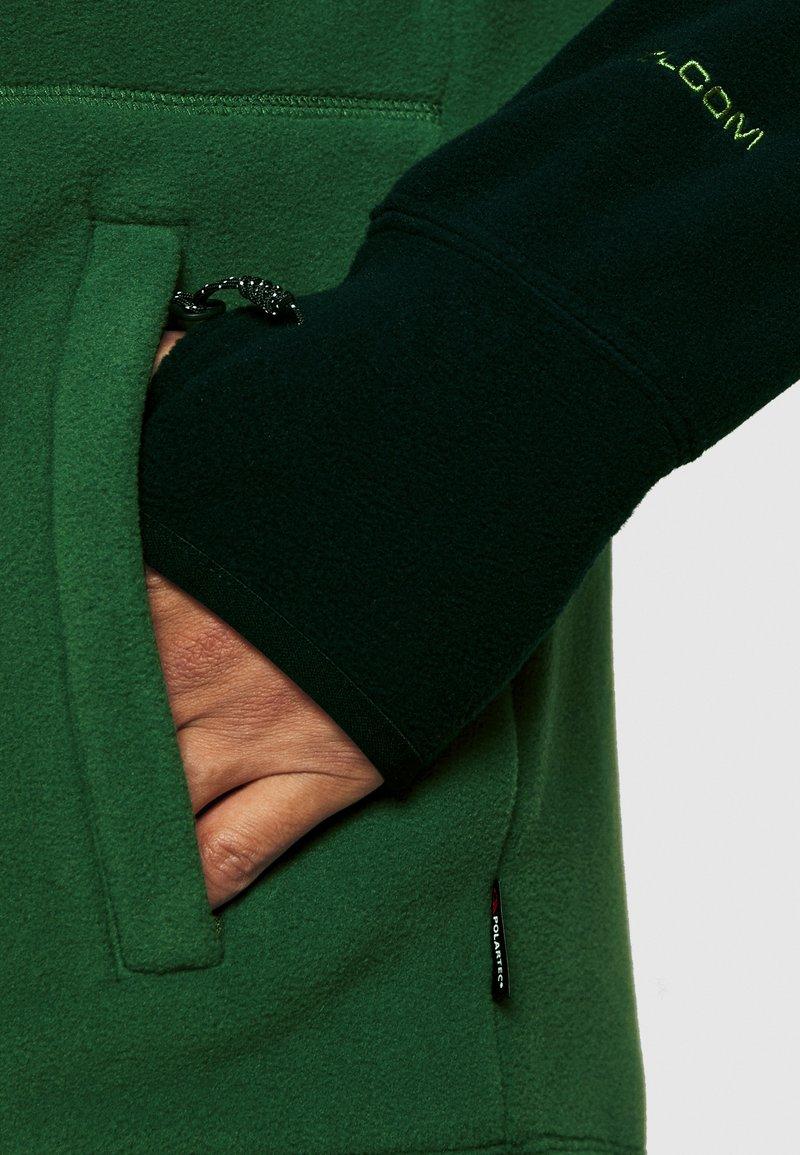 Vert Volcom Taille /l Homme Veste Polaire Polartec Fleece Forest Homme