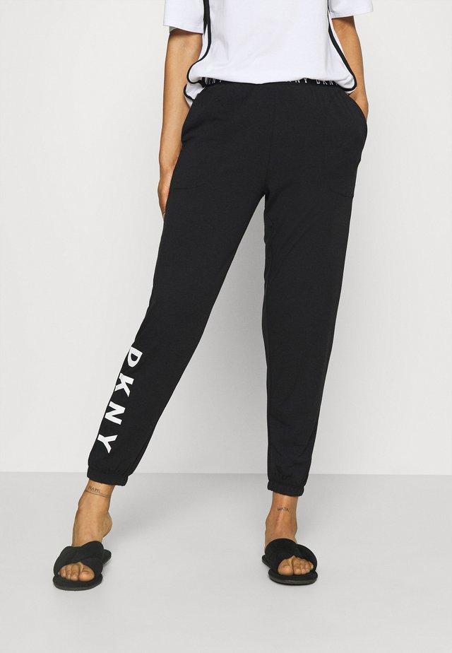CASUAL FRIDAY - Bas de pyjama - black
