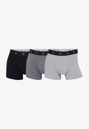 3ER PACK  - Pants - schwarz/grau