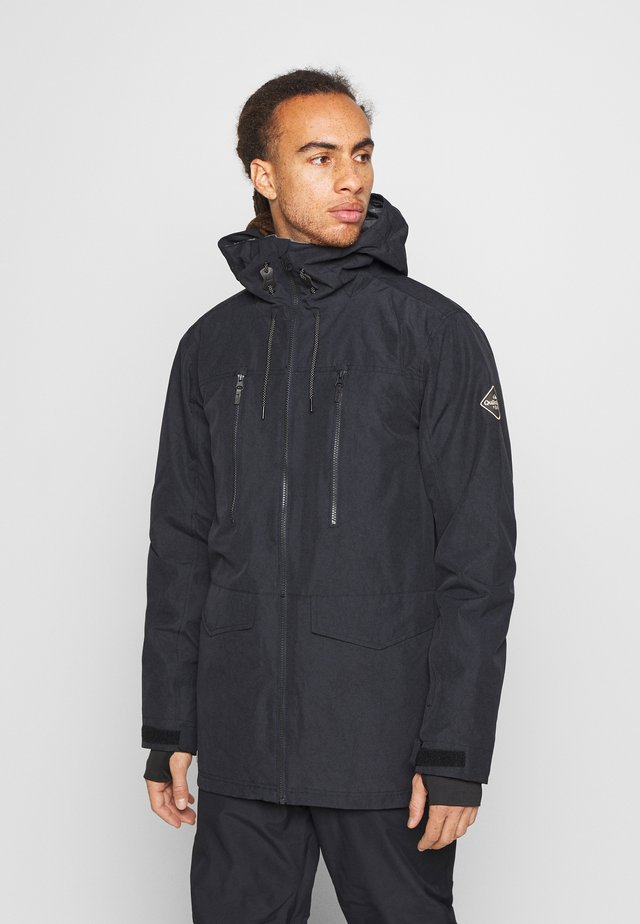 FAIRBANKS - Snowboardová bunda - true black