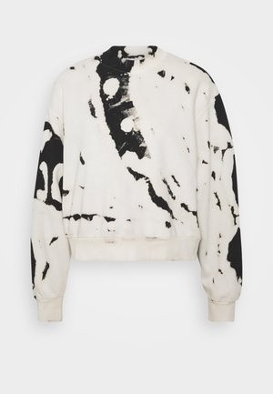 AMAZE PRINTED - Sweater - white/black