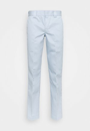 873 SLIM STRAIGHT WORK PANT - Tygbyxor - fog blue