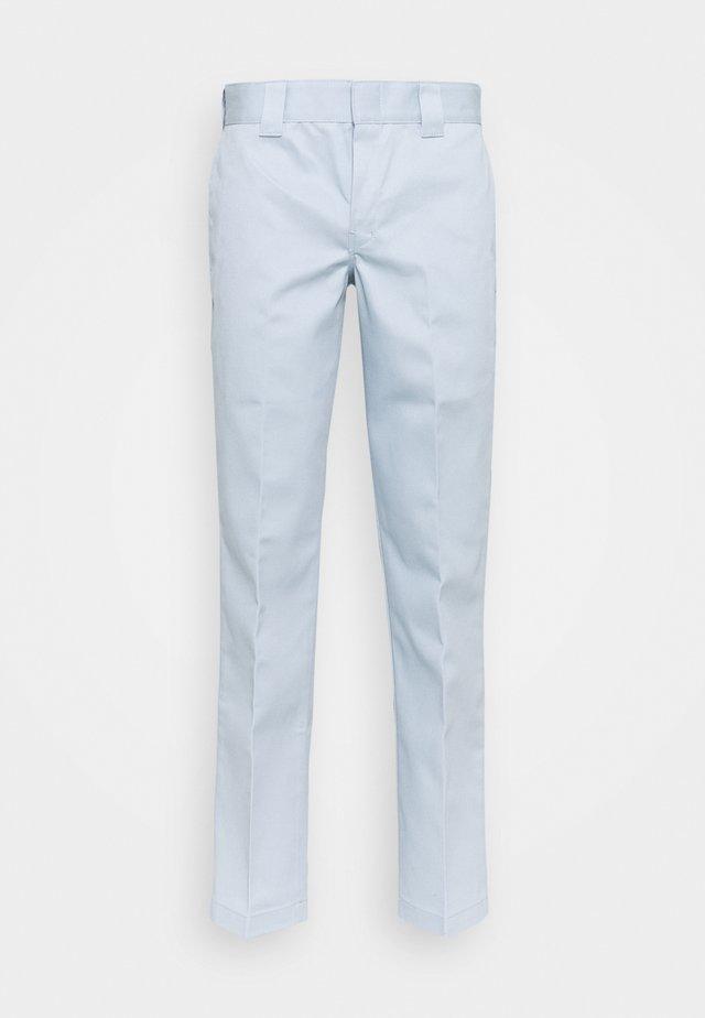 873 SLIM STRAIGHT WORK PANT - Pantalon classique - fog blue
