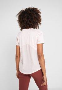 Nike Performance - MILER  - Print T-shirt - echo pink/reflective silver - 2