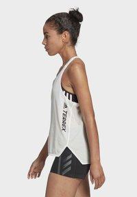 adidas Performance - AGRAVIC SINGLET PARLEY TANK TRAIL RUNNING - Sports shirt - white - 4