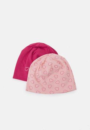 2 PACK UNISEX - Čepice - pink