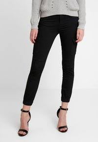 ONLY - Cargo trousers - black - 0