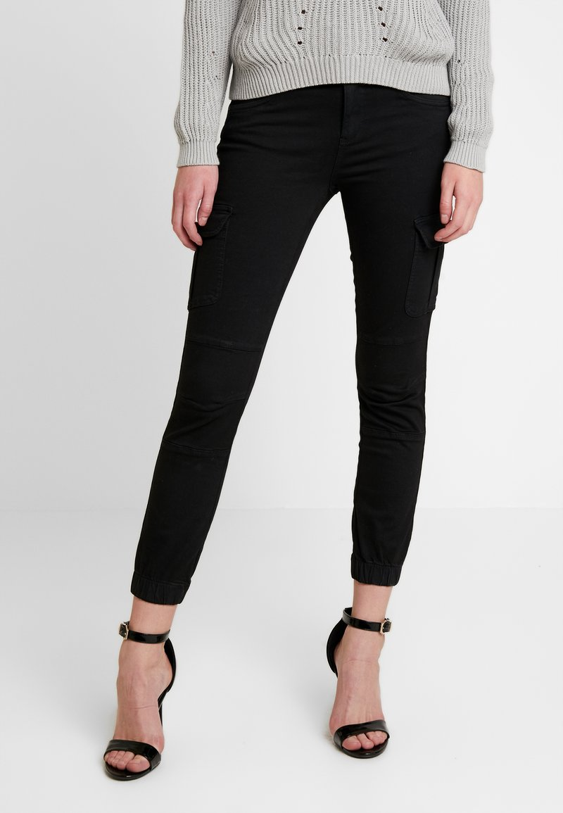 ONLY - Cargo trousers - black