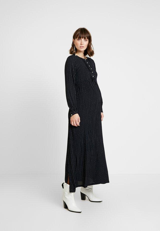 DRESS LONG - Maxi-jurk - black