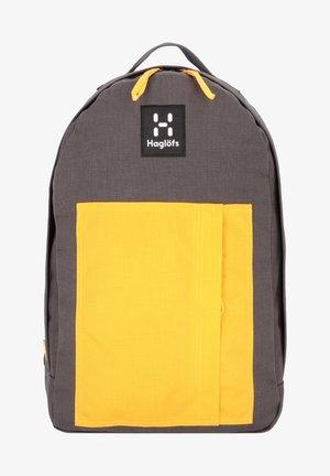 Rucksack - magnetite/pumpkin yellow