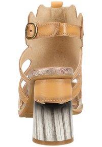 LAURA VITA - Sandalen met hoge hak - beige - 3