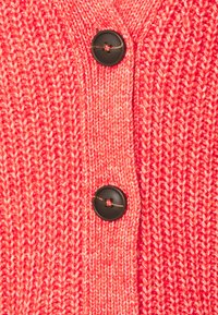 TOM TAILOR - CARDIGAN  - Cardigan - strong red melange - 2