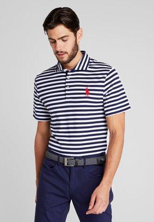 SHORT SLEEVE - Sports shirt - french navy/white