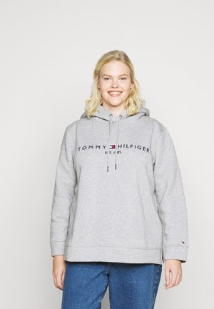 HOODIE - Bluza z kapturem - light grey heather