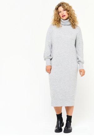 Jumper dress - light grey