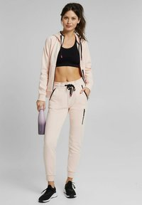 Esprit Sports - Tracksuit bottoms - peach - 1