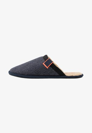 CLASSIC MULE - Slippers - navy