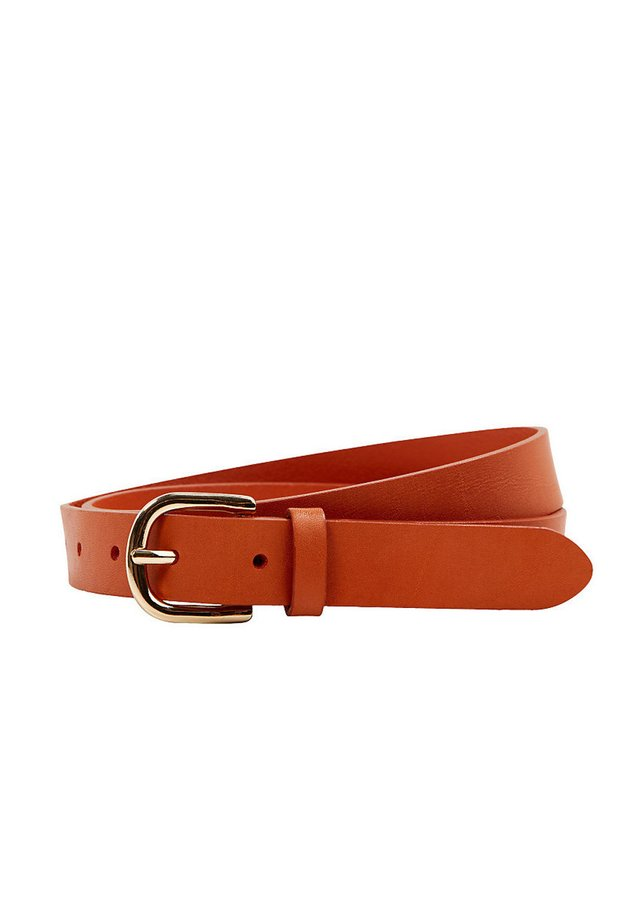 GÜRTEL AUS LEDER - Belt - orange
