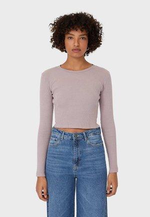 Pitkähihainen paita - purple