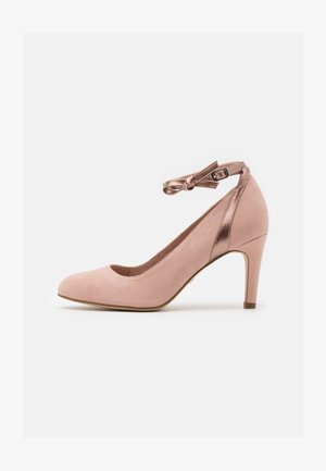 Tacones - rose metallic