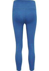 Hummel - HMLMACI HIGH WAIST 7/8  - Leggings - mykonos blue - 5