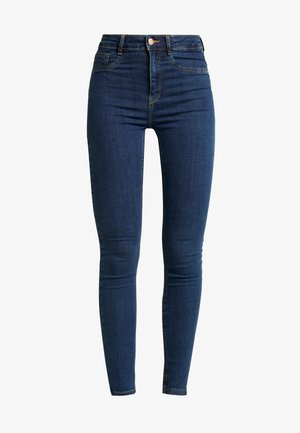 HIGHWAIST - Jeans Skinny Fit - rinsed denim