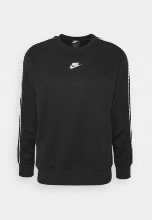 REPEAT CREW - Long sleeved top - black