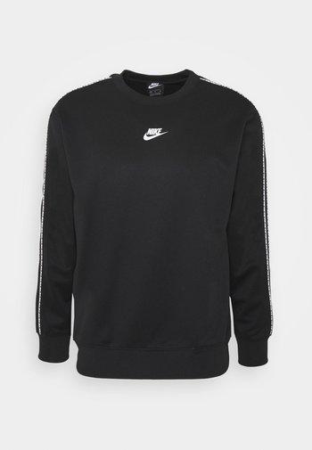 REPEAT CREW - Långärmad tröja - black