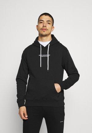 BARK HOOD - Sweatshirt - black