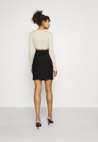 Morgan - JARIA - Mini skirt - noir - 2