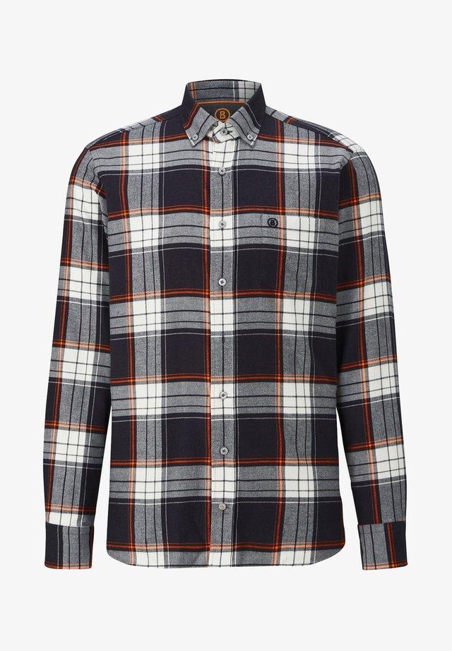 FLANELL TIMT - Shirt - schwarz/weiß