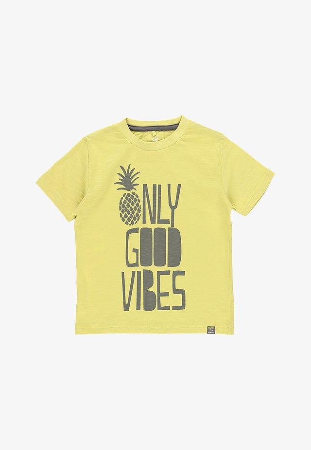 T-shirt imprimé - lime