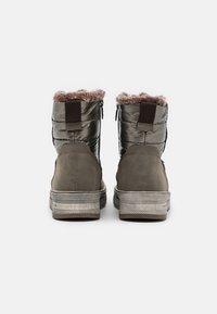 TOM TAILOR - Winter boots - mud - 3