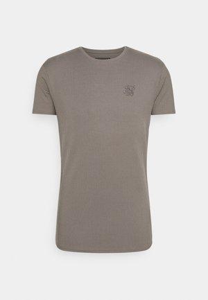 FINE GYM TEE - Basic T-shirt - grey