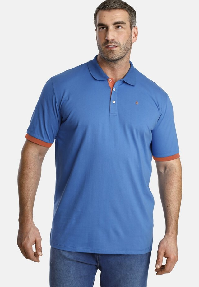 DERMOT - Polo shirt - blue